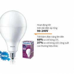 Đèn led Bulb Hi-Lumen 24W E27 A67 Philips