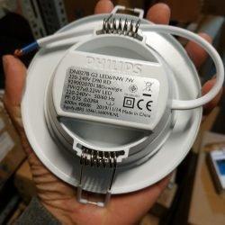 đèn led âm trần dn027b philips