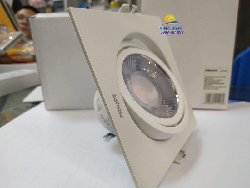 Đèn led chiếu điểm vuông GD100 Led5 1x6w Philips