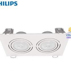 Đèn led chiếu điểm vuông GD100 Philips