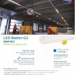 Bộ Máng Đèn LED T8 BN016C Philips