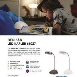 Đèn bàn Led Kapler 66027 4.6w Philips